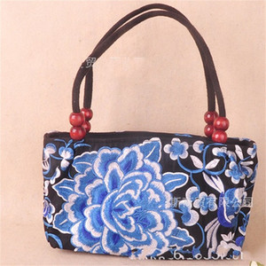 New Product Fashion Design Embroidery Flowers Handbag High Quality Embroidered Bags With Bead Colorful Decoration Hot Sale 8 2ydH1