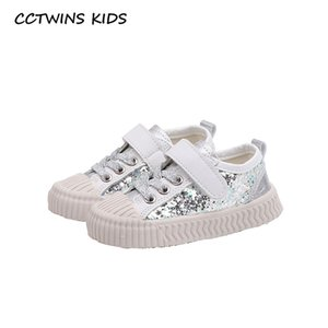 Wholesale CCTWINS KIDS Shoes Autumn Boys Fashion Sport Sneakers Toddler Sparkly Trainers Baby Girls Brand Casual Shoes Child FC2692