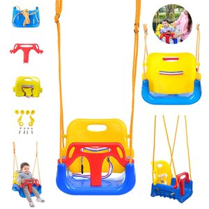 schaukel babys großhandel-Kinder Swing Chair Plastic Baby Swings Hängende Sitz Kinder Garten Garten Hinterhof Outdoor Spielzeug Indoor Sports Swing Zza2361