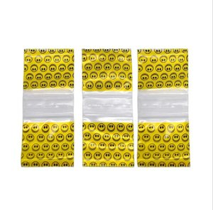 Wholesale Yellow Smiling Face Plastic Sealing Bag mm Large Plastic Bag