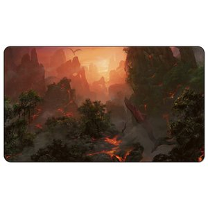 ingrosso giochi affamati-Magic Board Game Playmat Prossh the Combo Hungry cm Size Mat Mat Mousepad Gioca Matwitch fantasy occult dark female wizard2Trial o