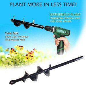 Wholesale bits for drills for sale - Group buy Spiral Drill Bit Heads For Digging Holes Garden Auger Spiral Bit Hand Drill Electric Drill Ground Bit Irrigating Planting