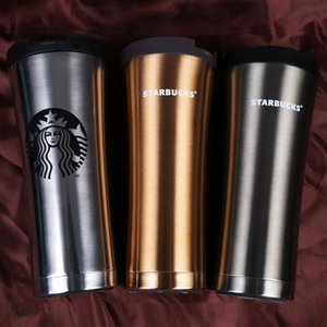 Wholesale Hot Sale Starbucks Stainless Steel Vacuum Cup Luxury Car Business Mugs Fashion Creative Coffee Cups