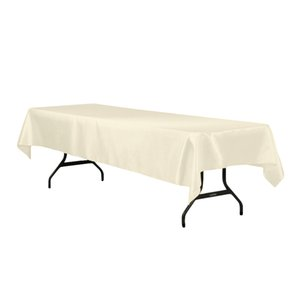 Wholesale 145x305cm Satin Charmeuse Table Covers Tablecloth Overlay For Home Wedding Restaurant Party Christmas Satin Fabric Decoration T8190620