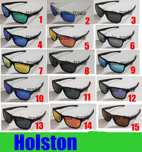 Wholesale TR90 Polarized Bicycle Glass HOLSTON New Designer sunglasses for Women sports cycling sunglasses fashion colour mirrors MOQ
