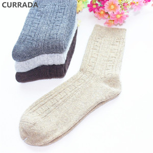 Wholesale 4pairs Warm Men Socks High Quality Winter Merino Wool Socks Thick fashion Classic Business Casual Crew thermal man Socks