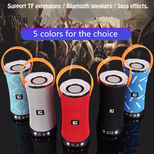 Wholesale LN W Portable Bluetooth speaker DSP Stereo Sound Deep Bass outdoor mini Wireless Speaker For Phone Computer colors