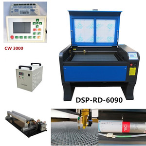 Wholesale reci W Co2 USB Autofocus Laser Cutting Machine With DSP System Laser Cutter Engraver Chiller x mm