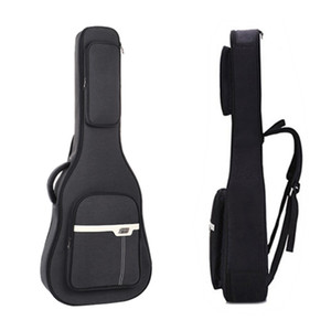 Gig Bag for 41inch Acoustic Guitar Waterproof 20mm Padded Soft Shell Case Black