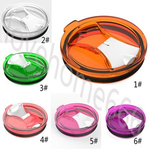 Wholesale For 30 oz Mugs Cups Lid Mugs Lid Transparent Clear Lids Cover Cars Beer Mug Splash Spill Proof Cover