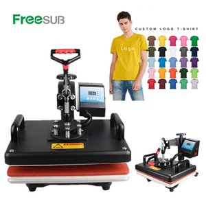 Wholesale Cheap CM Sublimation T shirt Heat Press Machine Digital Swing Heat Transfer T shirt Printing DIY Sublimation Printer