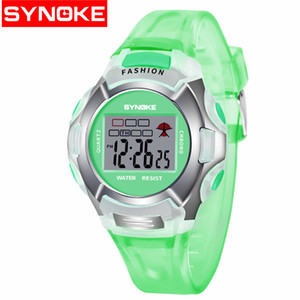 Wholesale High Quality wholesale watch Childrens Mens and Womens Look Very Cool Watches Luminous Waterproof Sport Student Digital Watches 99329 Green