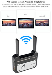 CINEEYE 5G Wireless Video Transmitter Mini DH Wireless Image Transmission HDMI 3D LUT Loading for Andriod Phone IOS iPhone iPad