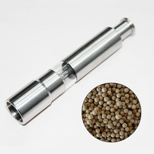Wholesale Stainless Steel Pepper Grinder Portable Manual Pepper Muller Seasoning Grinding Milling Machine Mini Cooking Tool Kitchen Tool DBC VT0595