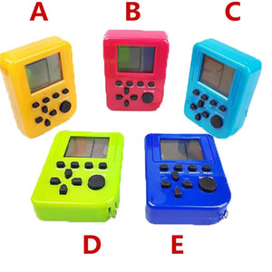 Wholesale Palmtop mini electronic game console tetris game nostalgia toy Tamagotchi Funny Kids Toys game console christmas gifts
