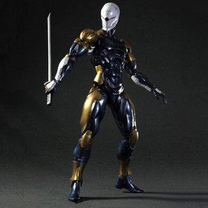 Wholesale metal fox gear for sale - Group buy Play Arts Kai Metal Gear Solid the Cyborg Ninja Gray Fox Action Figure Game Character Model Toy Figure
