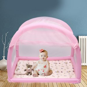 Wholesale Baby Bed Kids Toddler Folding Portable Travel Newborn Baby Cot Sleeping Children S Bed With Mosquito Net Bedding Crib Nest
