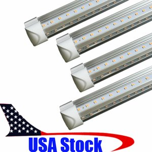Wholesale T8 Shop Lights ft ft ft ft LED Tube Light V Shape Integrated LED Tubes ft Cooler Door Freezer LED Lighting