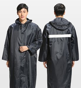 Wholesale Extended Outdoor Rainwear for Cross Border Wide Night Light Long Construction Site Thickening Adult Connected Rainwear for Electric Vehicles