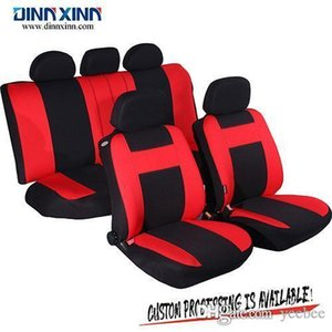 Wholesale DinnXinn 111063F9 Volkswagen 9 pcs full set Genuine Leather pvc car seat cover manufacturer from China