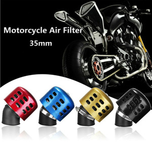 Wholesale air filtering for sale - Group buy 35mm Bullet Air Filter Cleaner Intake cc Motorrad Scooter Dirt Pit Bike