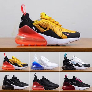 2019 kids youth Running Shoes kid Sneakers air run out door Sports shoe Trainer Air Cushion Surface size 28-35 WU11