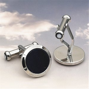 Luxury MB Starry sky Shirt Cufflinks Germany Brand Design Cuff Buttons High Quality Steel Cuff links For Men Abotoadura Jewelry on Sale