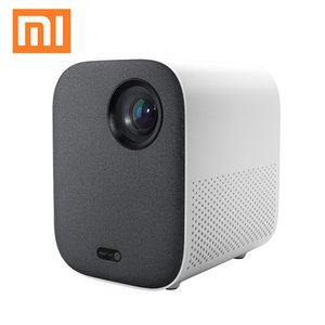 Original Xiaomi Mijia Mini Projector DLP Portable Projection TV Lite Amlogic T968-H CPU 1080P 500 ANSI lumens MIUI TV HDR10 2.4G   5G WiFi