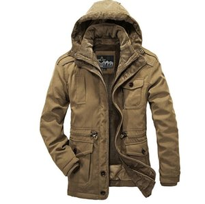 Wholesale Designer Men's Warm Parkas Fashion Thicken Top Quality Men Winter Jacket Coat Casual Outwear Plus