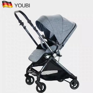 Wholesale folding hand cart for sale - Group buy German Youbi Two way Light Stroller Can Sit on A Reclining Folding High Landscape Baby s Hand Umbrella Cart
