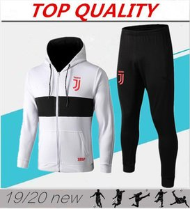 Wholesale hoodie jacket kit RONALDO 2019 2020 tracksuit DYBALA MANDZUKIC D. COSTA hoodie Training suit da calcio football jackets Sweatshirt