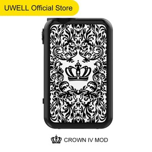 Wholesale crown battery resale online - vape battery Uwell CROWN IV MOD electronic cigarette suitable for Crown IV Kits electric smoke whole sale good price electric smoke