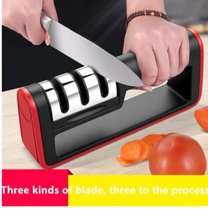 Genuine Professional 3 Stages Kitchen Knife Sharpener Ceramic Diamond Knife Sharpener Sharpening Stone Kitchen Tool Grindstone