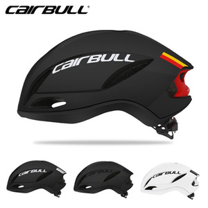 Wholesale CAIRBULL New SPEED Cycling Helmet Racing Road Bike Aerodynamics Pneumatic Helmet Men Sports Aero Bicycle Ciclismo