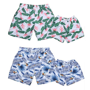 Wholesale toddler boy clothes Kids Children Board Shorts Boys Clothing Summer Beach Swimwear Father with Son Bathing Suit Family Matching Outfits