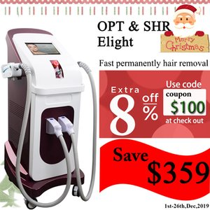 Wholesale E Light IPL laser hot in market opt ipl beauty equipment ipl hair removal handle machine