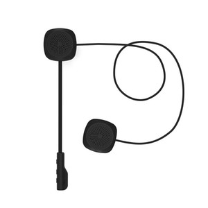 Easy Operate With Microphone Bluetooth Stero Sound Headphone For Motorcycle Helmet USB Charging Long Standby Wireless Hands Free