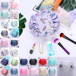 Wholesale Lazy Drawstring Cosmetic Bag Women Travel Magic Pouch Drawstring Cosmetic Bag Waterproof Drawstring Beauty Toiletry Kit Tools