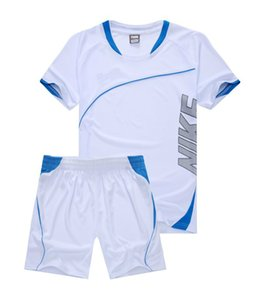 Wholesale Brand 8NIKE Summer Men Running tracksuit short sleeve T shirt and shorts casual hoodies sports suit sports set men's Round neck Sportswear
