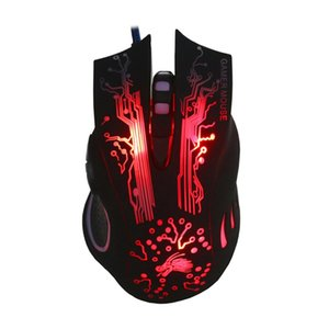 Wholesale High Quality Professional Usb Wired Gaming Mouse Button DPI LED Optical USB Gamer Computer Mouse Mice Cable For PC
