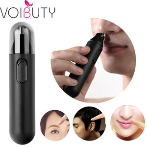 Wholesale Micro Precision Eyebrow Ear Nose Trimmer Hair Removal Clipper Shaver Personal Electric Face Care Hair Trimmer for Man and Woman Razor