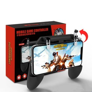 High quality PUBG mobile phone controller gamepad with real triggers and unconnected physical keys for 4.5~6.5 inch Android  Iphones free sh