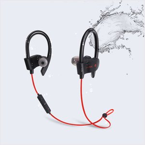 Wholesale Hot sale S Wireless Bluetooth Earphones Waterproof IPX5 Headphone Sport Running Headset Stereo Bass Earbuds Handsfree With Mic MQ100