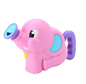 Wholesale Children s bathroom elephant shower water pump baby s hand shaking water spraying baby elephant bathtub bathing and playing with water