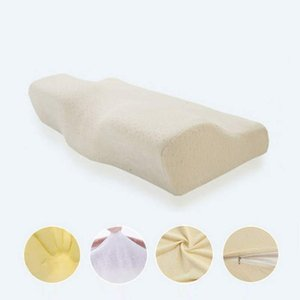 Healthcare Butterfly-shaped Memory Foam Pillow Ergonomic Cervical Core Pillow for Neck Shoulder Pain For Sleeping