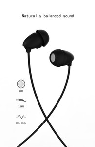 Wholesale REMAX In Ear Music Cable Sleep Headphones Silicone Earbuds Fashion Headphones RM