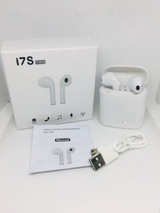 Wholesale Bluetooth Headphones V5 I7 I7S TWS Twins Earbuds Mini Wireless Earphones Headset for phone Android with Charger Dock white Black