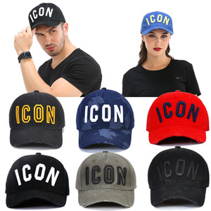 Wholesale Quality Baseball Cap Men s and Women s Casquette Embroidered Letters ICON Outdoor Street Trend Daddy Hat Truck Driver Bone