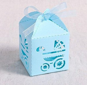 Wholesale Baptism Favor Boxes x2 x2 Laser Cut Gift Boxes for Baby Shower Favors Baptism Decorations First Bi