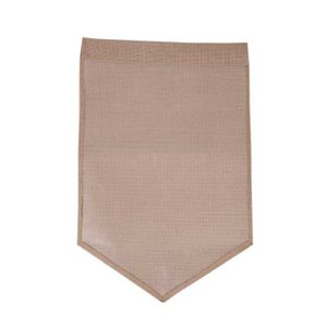 Wholesale DIY Burlap Garden Flag Blank Jute Burlap Flag DIY Yard Outdoor Signs Garden Wedding Festival Drcoration